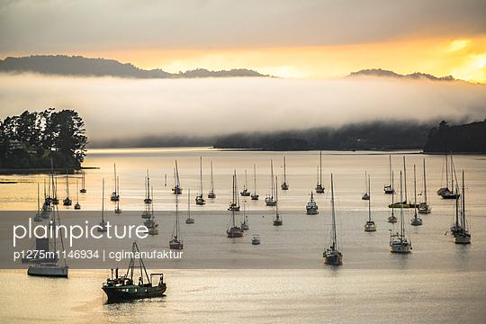 Segelboote in der Abendsonne - p1275m1146934 von cgimanufaktur