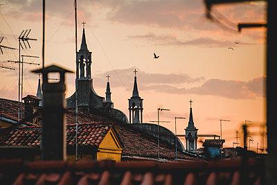 Über den Dächern von Venedig III - p1493m1584700 von Alexander Mertsch