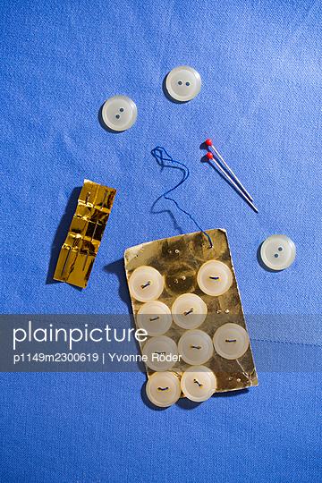 Sewing supplies - p1149m2300619 by Yvonne Röder