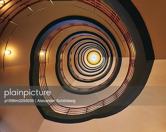 Stylish stairway - p1696m2293039 by Alexander Schönberg