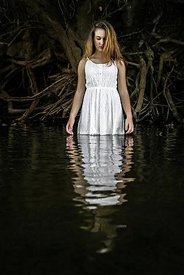 Dark Waters  - p1019m1480945 by Stephen Carroll