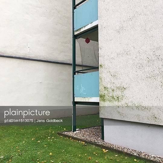 Balkone an einem Gebäude - p1401m1513075 von Jens Goldbeck