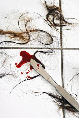 Blutiges Skalpell    - p450m1183266 by Hanka Steidle