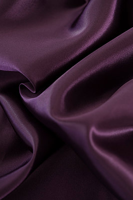 Purple silk - p495m906986 by Jeanene Scott