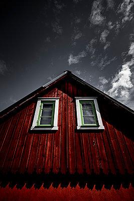 Rotes Schwedenhaus - p248m1462630 von BY
