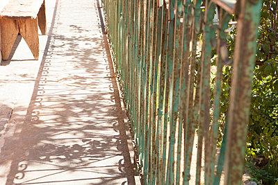 Auf dem Balkon - p781m2038030 von Angela Franke