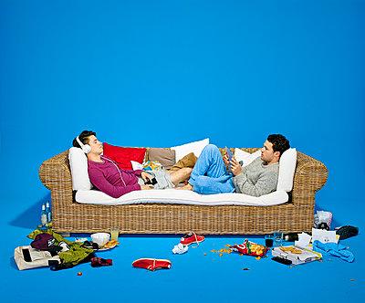 Couch - p1012m1083032 von Frank Krems