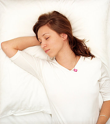 Sleeping woman - p2490140 by Ute Mans