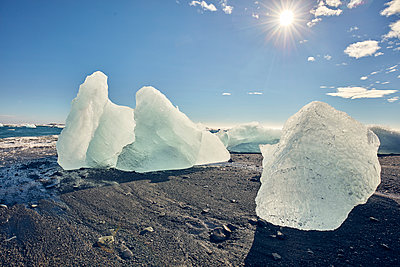 Glacial ice on Iceland  - p1305m1190729 by Hammerbacher