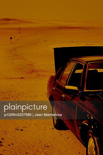 Desert, Egypt - p1028m2237589 by Jean Marmeisse