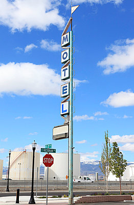 Motel sign - p0453026 by Jasmin Sander