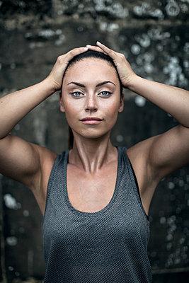 Sportive woman - p1520m2082019 by Michael Leckie