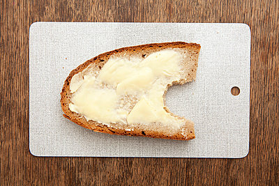 Bread with butter - p4540553 by Lubitz + Dorner