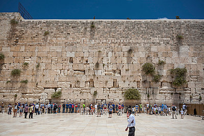 Wailing wall - p741m929350 by Christof Mattes
