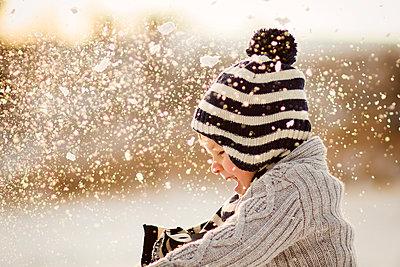 Spaß im Schnee - p796m1207436 von Andrea Gottowik
