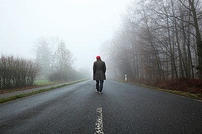 Man on the road - p902m856577 by Mölleken
