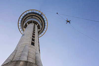 Skyjumping in Auckland - p741m892080 by Christof Mattes