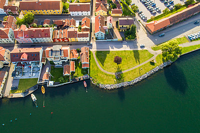 Old city of Västervik in summer, Västervik, Sweden - p300m2132547 by A. Tamboly