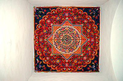 Decorated ceiling - p754m887019 by Valea Diller-El Khazrajy