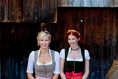 Dirndl - p787m1119626 by Forster-Martin