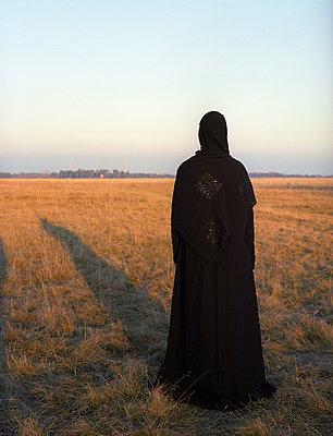 Muslim woman - p1064m831988 by Esmeralda