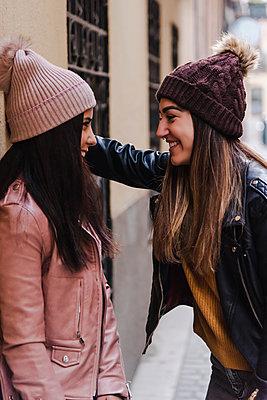 Beautiful Lesbian Couple. LGBT Concept. - p1166m2165953 by Cavan Images