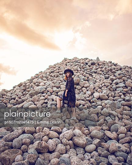 Steinhaufen - p1507m2045475 von Emma Grann
