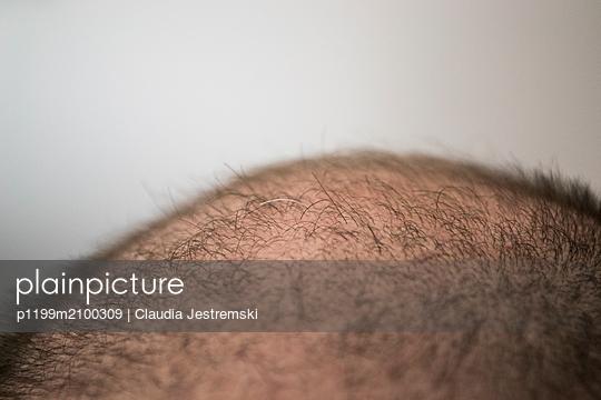 The first grey hair - p1199m2100309 by Claudia Jestremski