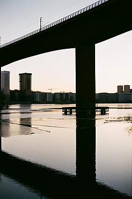 Bridge in Stockholm - p1063m1440267 by Ekaterina Vasilyeva