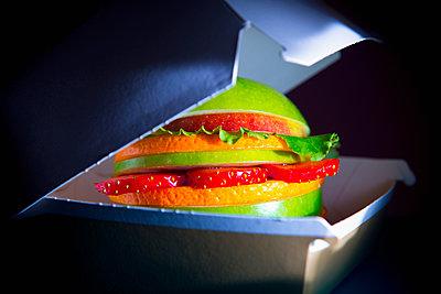 Veggie Burger - p1149m2089340 by Yvonne Röder