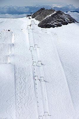 Tuxer Ferner glacier - p162m951790 by Beate Bussenius