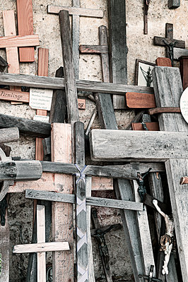Catholic crosses and crucifixes  - p947m2209410 by Cristopher Civitillo