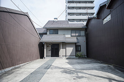 Eingebautes Einfamilienhaus - p1093m904071 von Sven Hagolani
