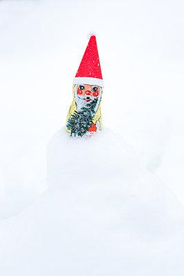 Weihnachts-Zwerg - p454m2076572 von Lubitz + Dorner