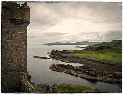 Gylen Castle View - p1154m1162659 by Tom Hogan