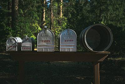 Mail boxes - p1290m1152474 by Fabien Courtitarat