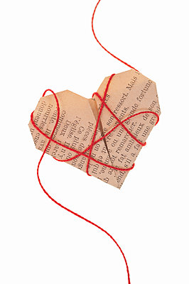 Origami heart - p971m2064494 by Reilika Landen