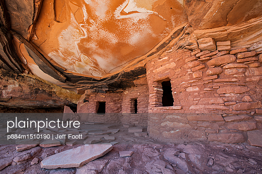 P884m1510190 Rs Fallen Roof Granaries Ruin Bears Ears National Monument Utah