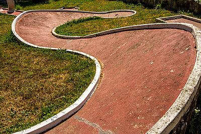 Miniature golf, France - p813m1057211 by B.Jaubert