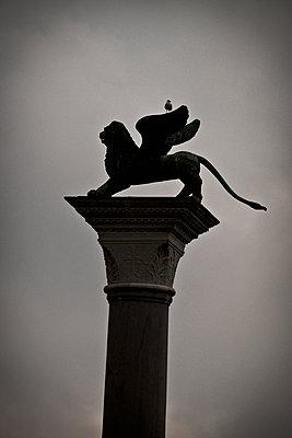 Markuslöwe in Venedig - p1149m1332984 von Yvonne Röder
