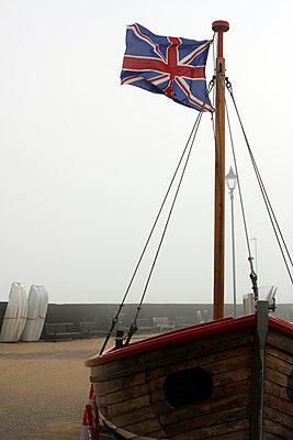 English flag - p1063m893700 by Ekaterina Vasilyeva