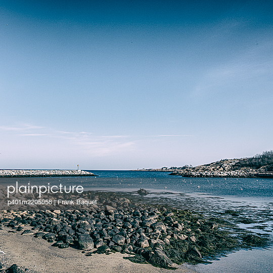 Coast off Rockport - p401m2205958 by Frank Baquet