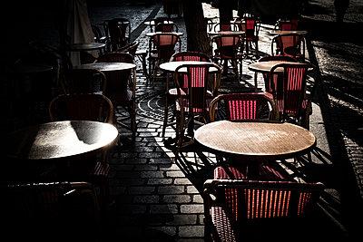 Straßencafe in Paris - p1243m1515578 von Archer
