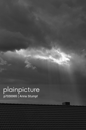Sky and storm - p7030065 by Anna Stumpf
