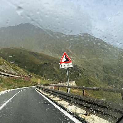 Italy, Aosta Valley, Great St Bernard Pass - p300m1009068f by Gaby Wojciech