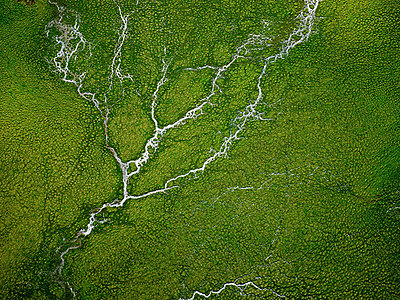 Aerial view of fresh water spring - p429m819823 by Henn Photography