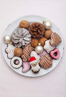 Weihnachtsteller - p454m668232 von Lubitz + Dorner
