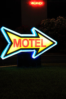Motel sign - p0452809 by Jasmin Sander