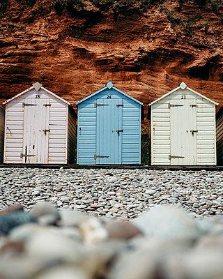 Great Britain, Budleigh Salterton Beach - p1549m2158050 by Sam Green