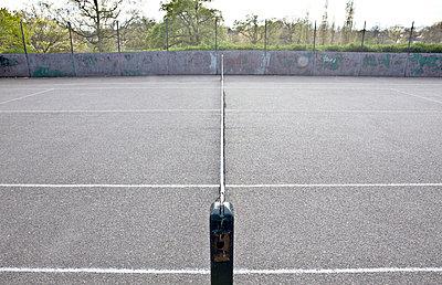 Tennis Net - p1082m1018649 by Daniel Allan